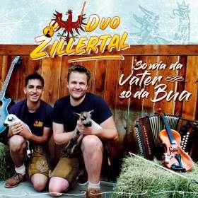 Duo Zillertal: So wia da Vater so da Bua, CD