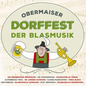 Obermaiser Dorffest der Blasmusik, CD