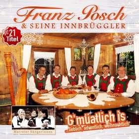 Franz Posch & Seine Innbrüggler: G'müatlich is... lieblich, adventlich, weihnachtlich, CD