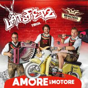 Läts Fetz: Amore mit Motore, CD