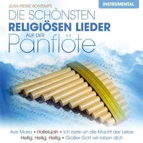 Jean-Pierre Bontemps: Die schönsten religiösen Lieder auf der Panflöte, CD