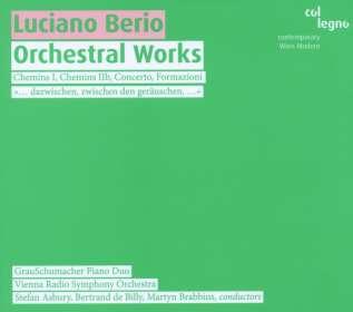 Luciano Berio (1925-2003): Orchesterwerke, CD