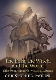 Christopher Paolini: The Fork, the Witch, and the Worm, Buch