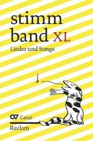Klaus Brecht: Stimmband XL, Noten