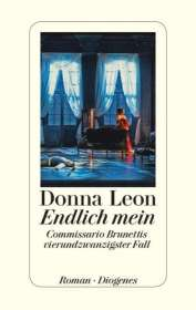 Donna Leon: Endlich mein, Buch