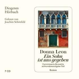 Donna Leon: Ein Sohn ist uns gegeben, 7 CDs