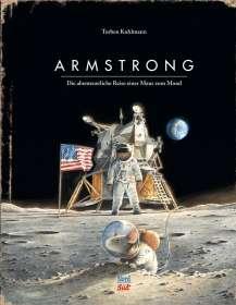 Torben Kuhlmann: Armstrong, Buch