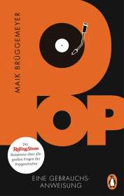 Maik Brüggemeyer: Pop, Buch