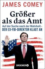 James Comey: Größer als das Amt, Buch