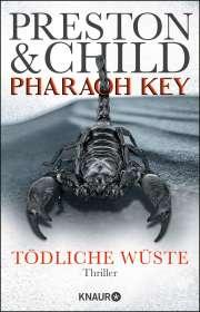 Douglas Preston: Pharaoh Key - Tödliche Wüste, Buch
