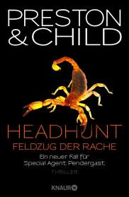 Douglas Preston: Headhunt - Feldzug der Rache, Buch