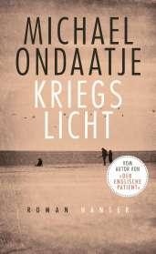 Michael Ondaatje: Kriegslicht, Buch