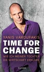 Yanis Varoufakis: Time for Change, Buch