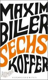 Maxim Biller: Sechs Koffer, Buch