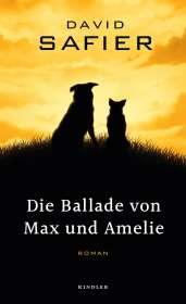 David Safier: Die Ballade von Max und Amelie, Buch