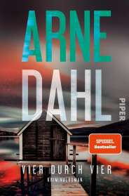 Arne Dahl: Vier durch vier, Buch