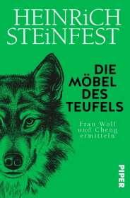 Heinrich Steinfest: Die Möbel des Teufels, Buch