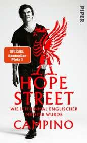 Campino: Hope Street, Buch