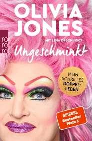 Olivia Jones: Ungeschminkt, Buch