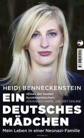 Heidi Benneckenstein: Ein deutsches Mädchen, Buch