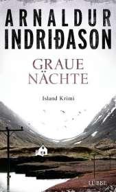Arnaldur Indriðason: Graue Nächte, Buch