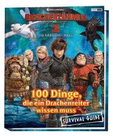 Drachenzähmen leicht gemacht 3: Die geheime Welt: 100 Dinge, die ein Drachenreiter wissen muss - Survival Guide, Buch