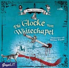 Ben Aaronovitch: Die Glocke von Whitechapel, 4 CDs