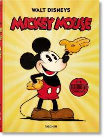 David Gerstein: Walt Disney's Mickey Mouse: Die ultimative Chronik, Buch