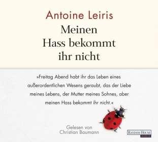 Antoine Leiris: Meinen Hass bekommt ihr nicht, 2 CDs