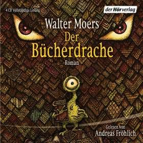 Walter Moers: Der Bücherdrache, 4 CDs