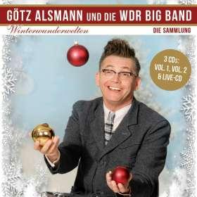 Götz Alsmann: Winterwunderwelten – Die Sammlung, 3 CDs