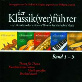 Gerhard K.Englert (Hrsg.):Der Klassik(ver)führer Band 1-5, 5 CDs