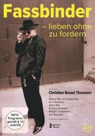 Christian Braad Thomsen: Fassbinder - Lieben ohne zu fordern, DVD
