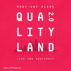 Marc-Uwe Kling: QualityLand 2.0, CD
