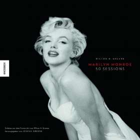Joshua Greene: Marilyn Monroe 50 Sessions, Buch