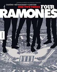 Xavier Bétaucourt: One, Two, Three, Four, Ramones!, Buch
