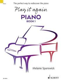 Melanie Spanswick: Play it again: Piano, Noten