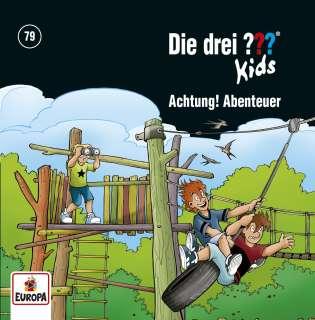 Die drei ??? Kids - Achtung, Abenteuer! Cover