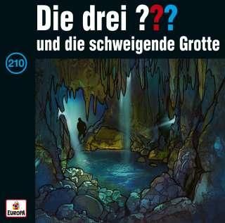 Die drei ??? und die schweigende Grotte (Hörbuch) Cover