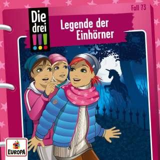 Die drei !!! Legende der Einhörner Cover