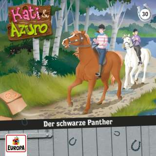 Der schwarze Panther (Hörbuch CD) Cover