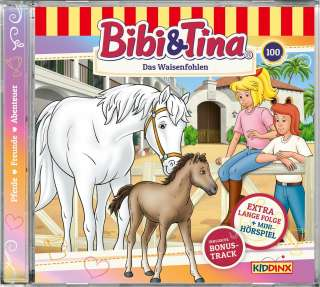 Bibi & Tina. Das Waisenfohlen Cover