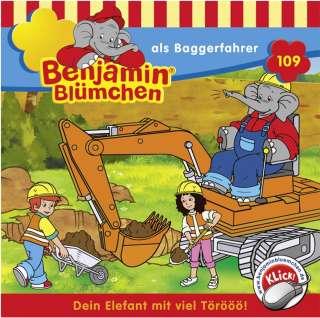 Benjamin Blümchen als Baggerfahrer Cover