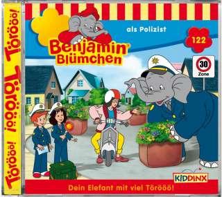 Benjamin Blümchen als Polizist Cover