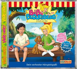 Bibi Blocksberg - Urlaub am See Cover