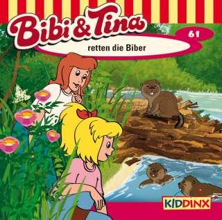 Bibi und Tina retten die Biber Cover