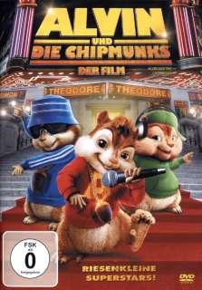 Alvin und die Chipmunks der Film Cover