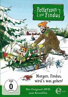 Pettersson und Findus Morgen, Findus wird's was geben! Cover