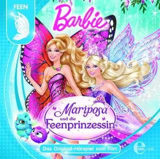 Barbie und Mariposa und die Feenprinzessin Cover