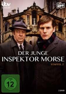 Der junge Inspektor Morse- Staffel 2 (DVD) Cover